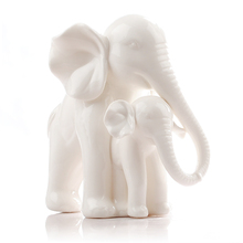 Express shipping free for creative home accessories,ceramic crafts ornaments ,wedding gift and ceramic elephant.