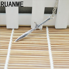 Fashion jewelry charm sweater necklace pendant Popular sword god necklace jewelry sell like hot cakes