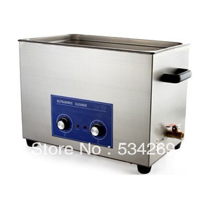 30L Stainless steel Ultrasonic Cleaner with Timer and Heater (including Washing Basket) 22l stainless steel ultrasonic cleaner with timer and heater including washing basket