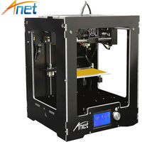 Anet A3 3D Printer Machine Full Acrylic Assembled Reprap Prusa i3 3D Printer Kit with Filament 8G SD Card +Tool for Free Large