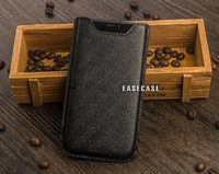 A2 Custom Made Genuine Leather Sleeve Holder Case for Apple iPhone X XS