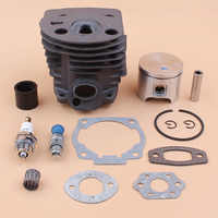 46MM Cylinder Piston Ring /Intake Manifold Gasket Kit For HUSQVARNA 55 51 Rancher Chainsaw Decompression Valve