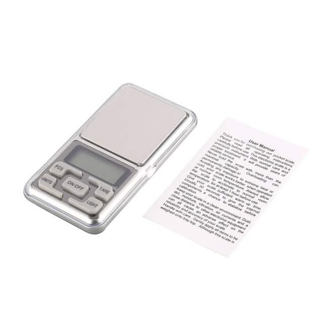 Mini Digital Pocket Scale 1000g 0 1g