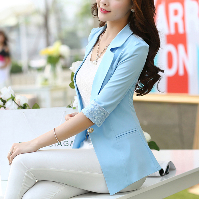 2015 The new autumn the Small suit Women's wear short coat joker ...