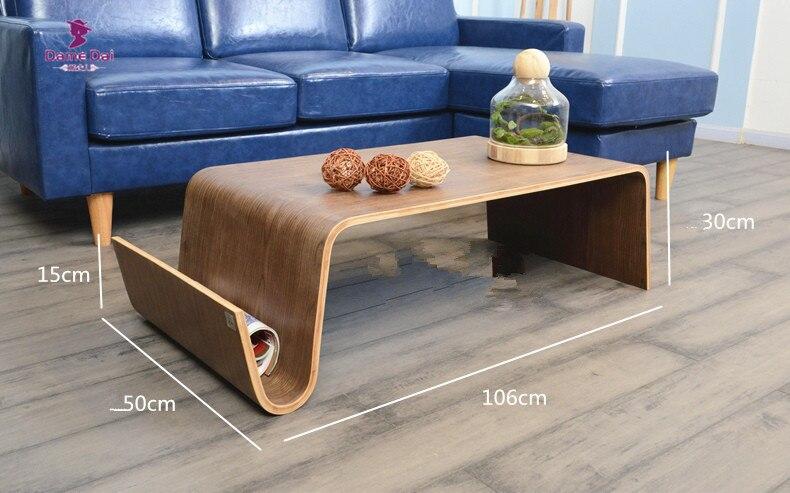 Mitte Des Jahrhunderts Design Moderner Couchtisch Für Frühstück, Magazin  Wohnzimmer Möbel Seite Bugholz Ende Tee Bett Tisch Für Laptop In Mitte Des  ...
