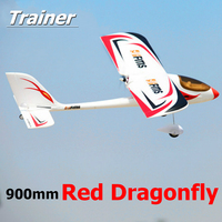 FMS 900mm (35.4) Red Dragonfly 4CH 2S PNP Durable EPO RC Airplane Easy Trainer Beginner Radio Control Model Plane Aircraft