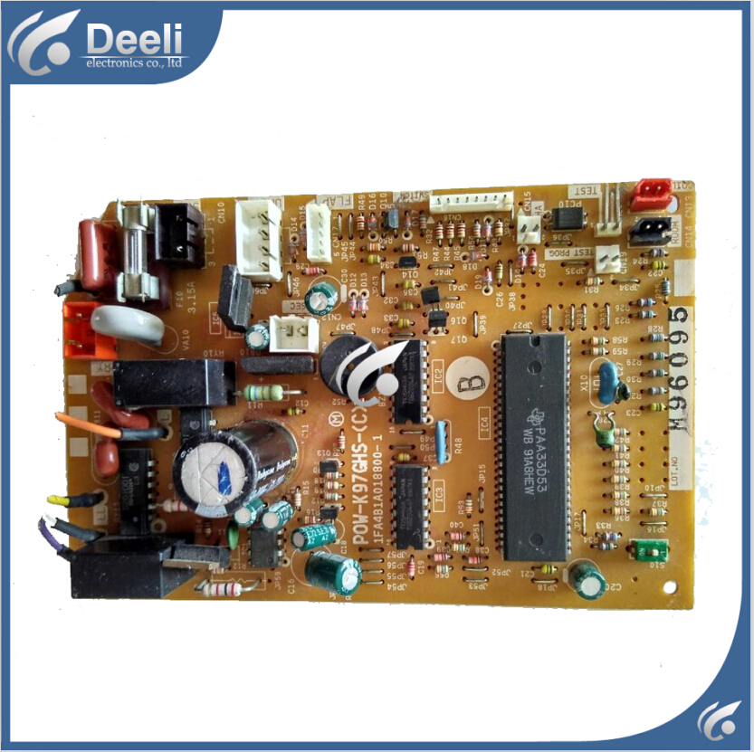 95% new Original for air conditioning Computer board POW-K97GHS-(C) 1FA4B1A018800-1 PC board модель дома if the state of science and technology 3d