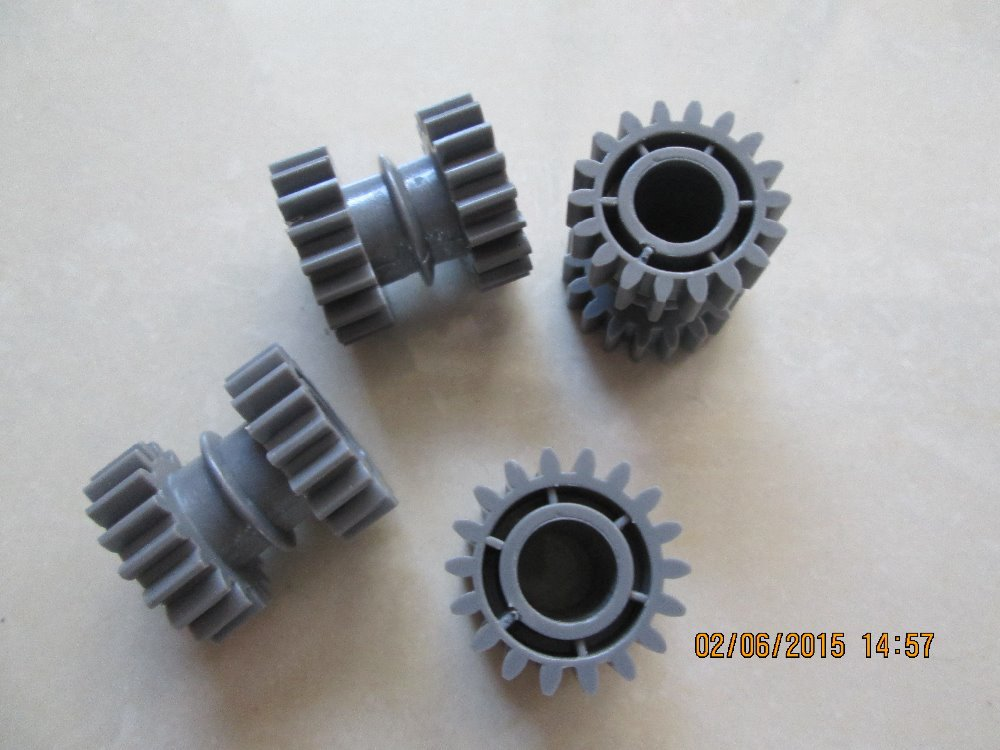 (4pcs / lot) Noritsu Gear O18T (dicephalous) A050698 / A050698-01 QSS үшін 29/32/34/37