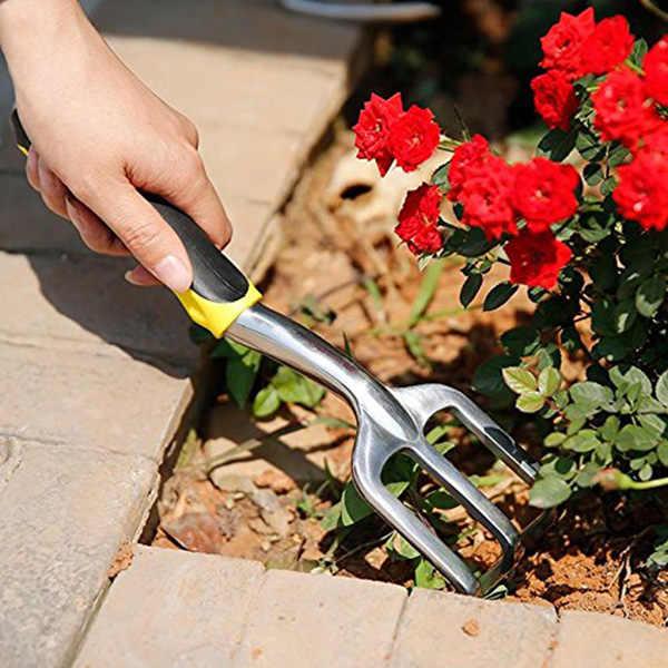 3 шт. мини лопату лопатой Харроу Set садовые инструменты комнатные растения костюм обслуживания с деревянной ручкой сад инструмент