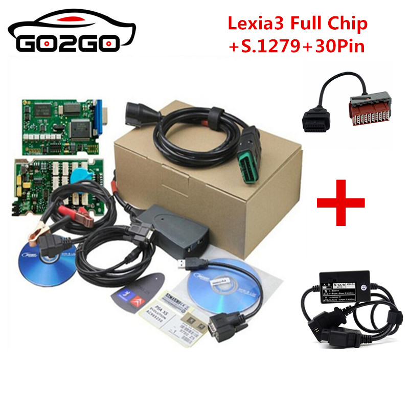 Lexia-3 PP2000 Full Chip 921815C Diagbox V7.83 OBD2 Diagnostic Tool For B1