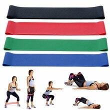 Mayitr rezistences elastīgās lentes 4 krāsas Fitness Gym stiprības kāju apmācība Exercicios fitnesa jogas aprīkojums paplašinātājam