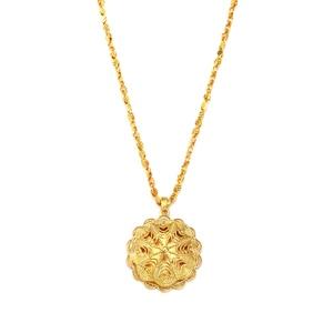 Image 3 - Ethlyn Groothandel Ethiopische Sieraden Sets Goedkope Bridal Bloem Party Vier Stuks Bruiloft Sets Afrikaanse Gold Plating Accessoires S323