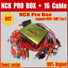 2017 Newest version Original NCK Pro Box NCK Pro 2 box (support NCK+ UMT 2 in 1)new update For Huawei Y3,Y5,Y6 + 15 cables