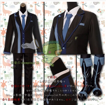 New Anime BLACK BULLET Rentaro Satomi Cosplay Costume Full Set Customized