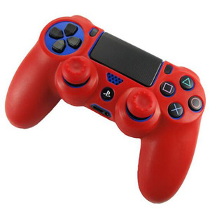 Image 5 - Rubber Gamepad Joystick Thumbstick Grip Cap Protective Skin Cover Case For Sony Playstation Dualshock 4 PS4 Slim Pro Controller