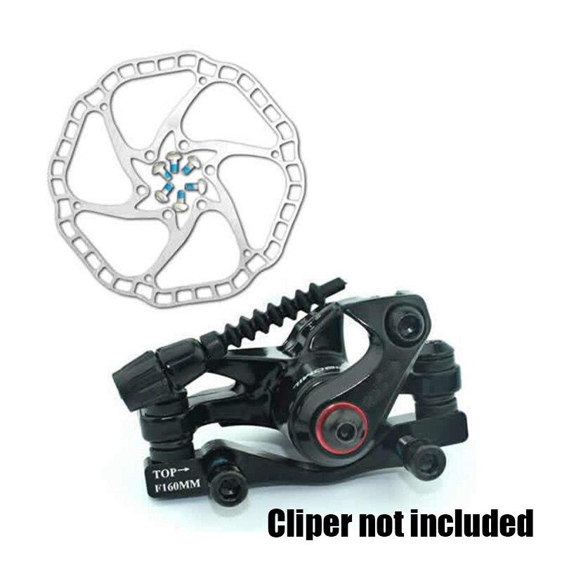 68 г/шт. ультра-легкий велосипедный Гидравлический дисковый тормоз роторы MTB велосипед шоссейный велосипед тормозной диск ротор мм 160 мм/140 мм 44 мм 6 болтов