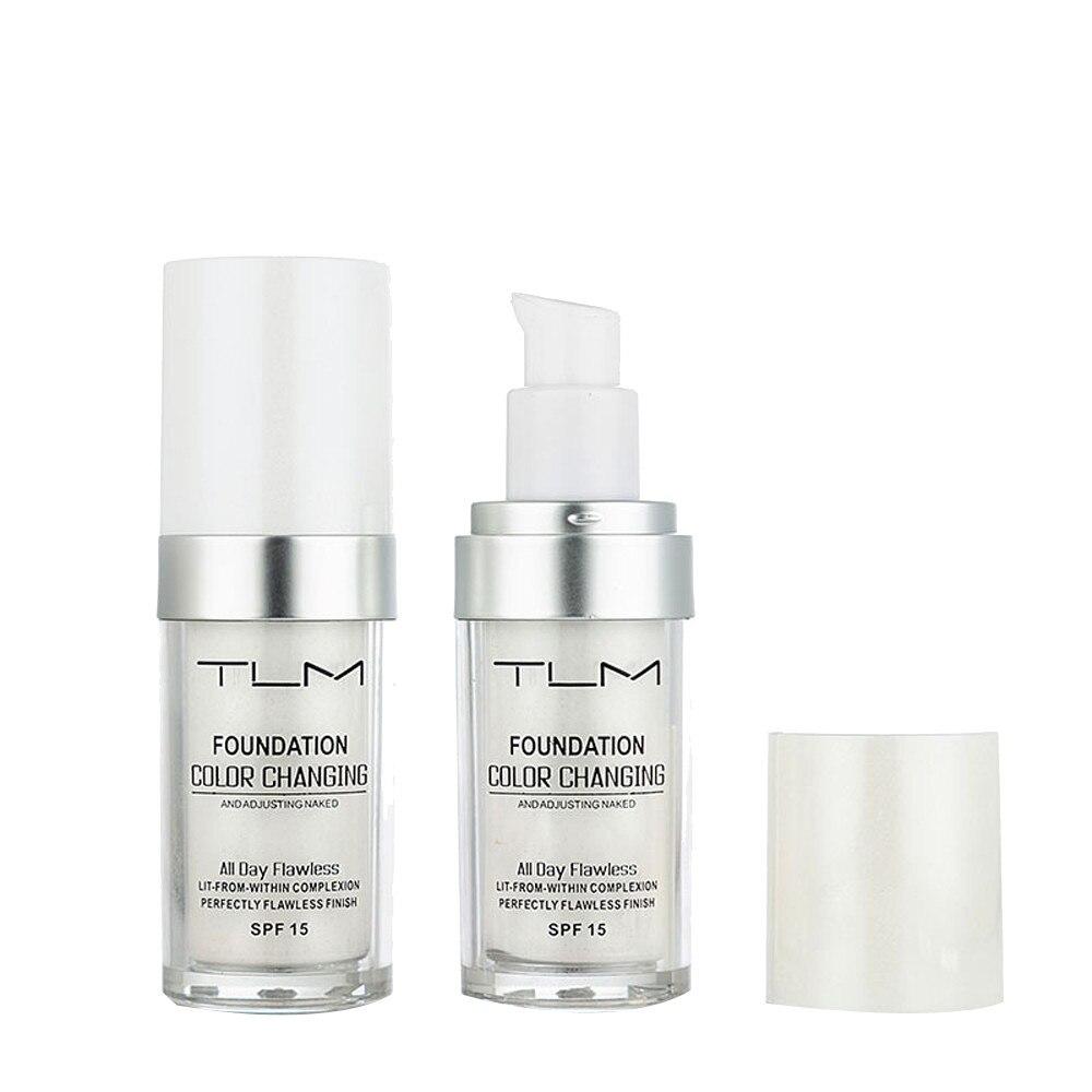 Changing Foundation Makeup Base Nude Face Liquid Cover Concealer contour palette concealer palette Concealer Drop Ship Maquiagem