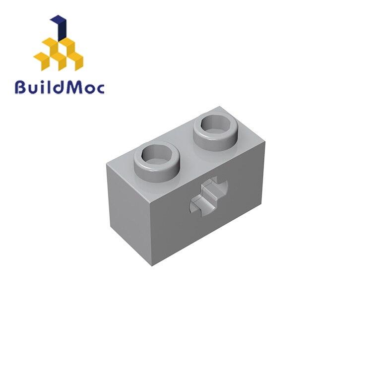 Buildmoc 32064 31493 1x2 técnica captura de comutação para blocos de construção peças diy educacional criativo