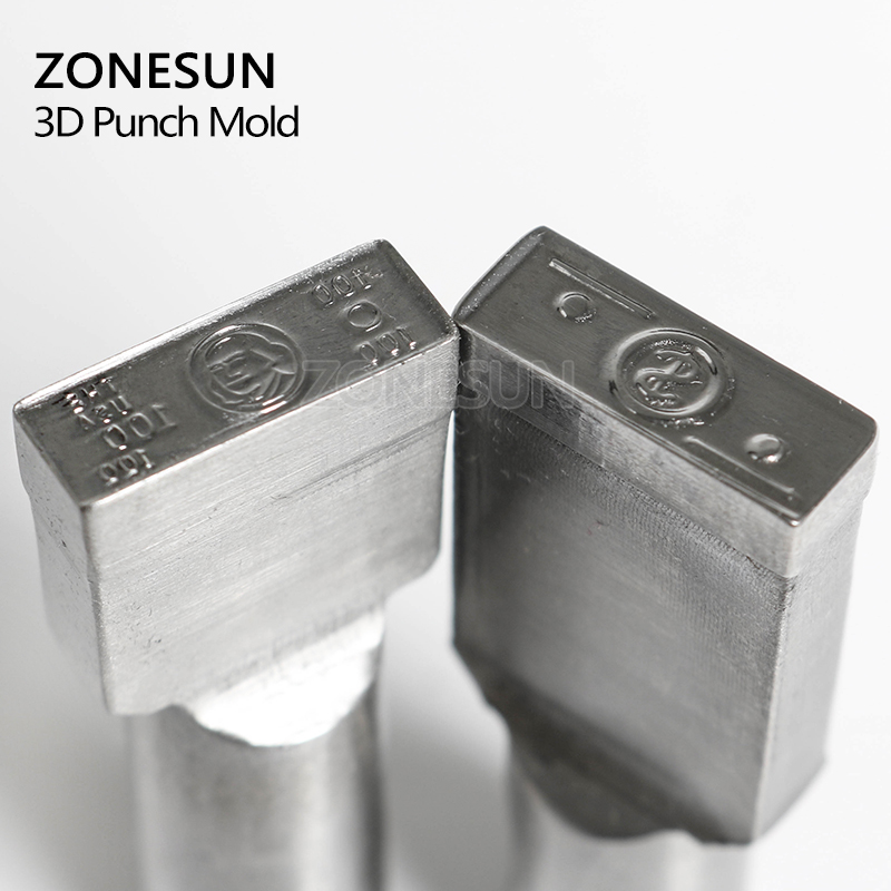 ZONESUN USD Logo Customized Candy Sugar Milk Stamp Precision Punch Die Mold Tablet Press Tool Punch And Die TDP 0/1.5/3 zonesun customize jewelry buckle mark stamp tool gold sterling silver ring bracelet earring metal steel punch mold