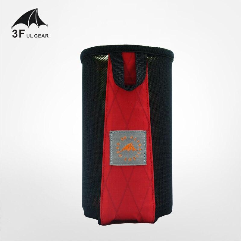 3F UL GEAR Outdoor Travel Water Bottle Bag Portable Bag External Water Bottle Set External Bag External Hanging Accessories