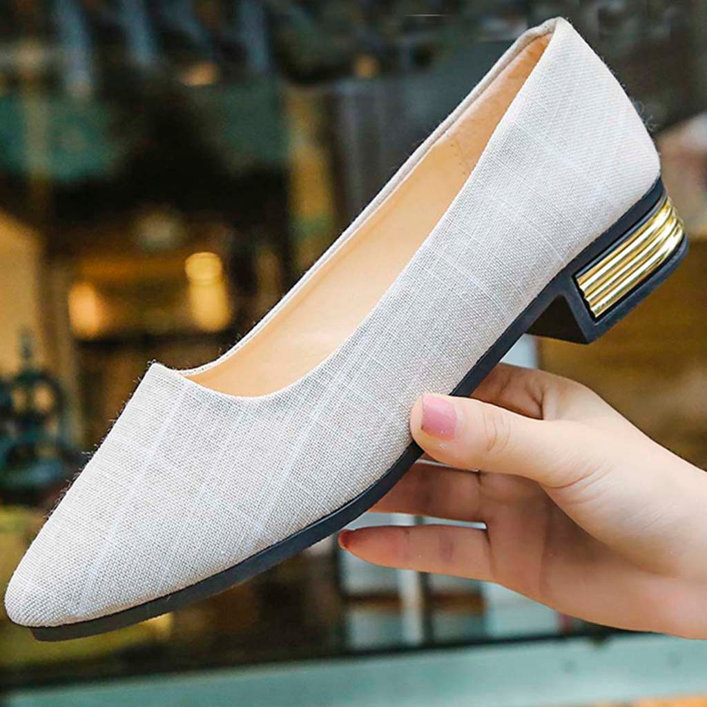 84afc2ba9b7 Detail Feedback Questions about SAGACE Loafers Summer Women Shoes Gingham  Pointed Toe Los zapatos Fashion Ladies Singles Canvas Shoes Slip On Footwear  ...