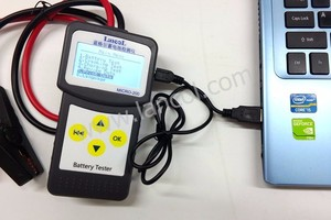Image 3 - Professional diagnostic tool Lancol Micro 200 Car Battery Tester Vehicle Analyzer 12v cca battery system tester USB for Printing