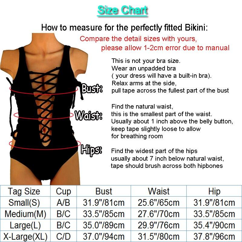 604f9cf92 OMKAGI marca traje de baño las mujeres traje de baño Push Up Sexy Micro  Bikinis natación