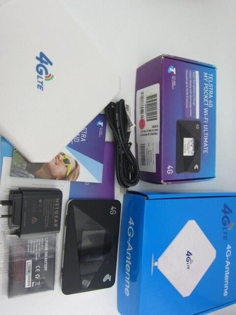 Unlocked Netgear AirCard 785S (Plus 4g 35dbi antenna)LTE Mobile Hotspot Dual band Wi-Fi 4G FDD 700/900/1800/2100/2600MHZ netgear ac791l verizon wireless 4g lte mobile hotspot