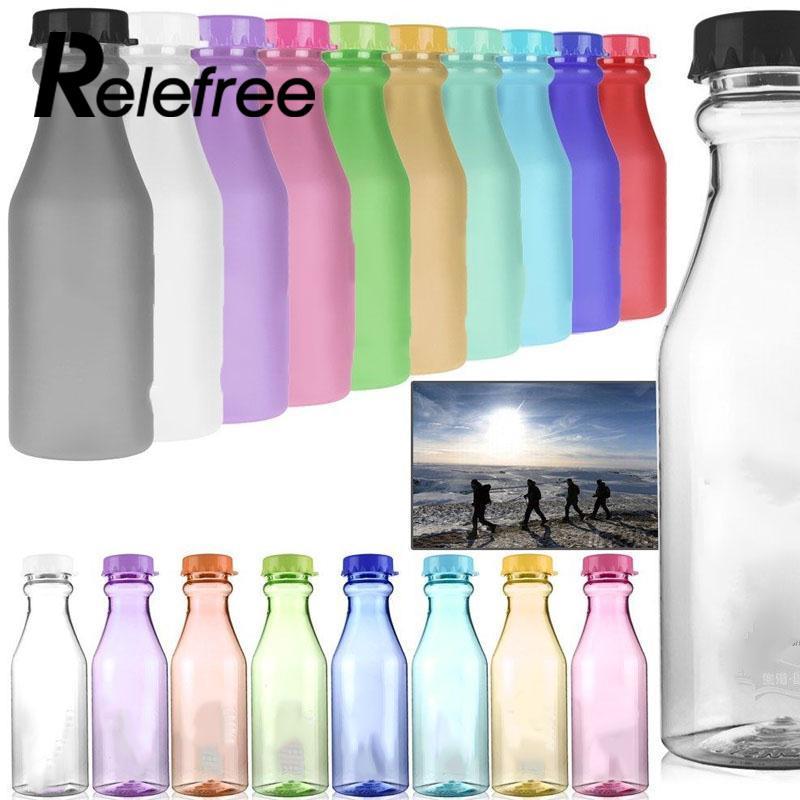 550mL BPA Free Unbreakable Water Bottle For Bike Sport Camping Portability Sport Bottle