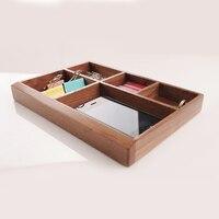 Zakka Style Home Storage Box Natural Wooden Food Organizer Handmade Craft Jewelry Case Wedding Gift