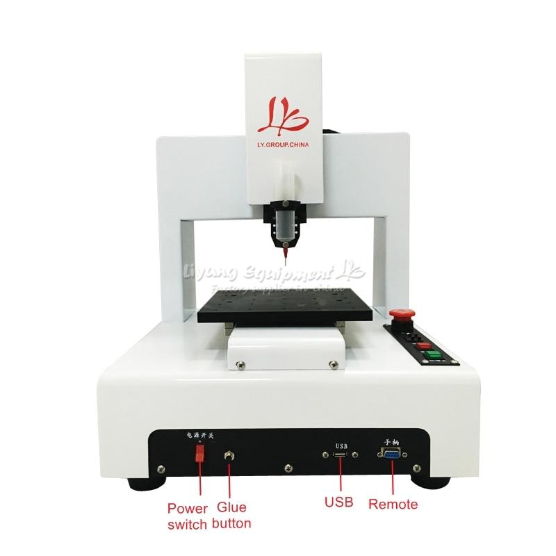 Автоматический цифровой диспенсер клея 3 оси SMD дозирования для монтажных плат, электронных компонентов