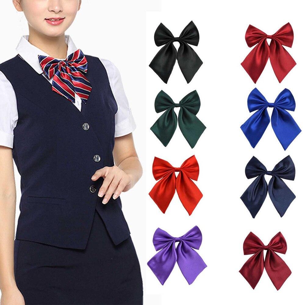 Women Lady Girls Butterfly Bowtie Silk Bow Ties Formal Bow Tie New Fashion Ih