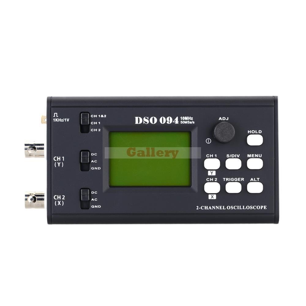 50 Msa S 10mhz Portable Usb Interface Dual Channel Oscilloscope Dso Mini Digital Storage Oscilloscope dso 150 2 0 lcd usb dual channel oscilloscope