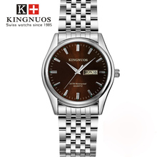 Relogio masculino 2018 новый роскошный пару календарь часы Для мужчин модные Бизнес Водонепроницаемый часы Для женщин Повседневное Кварцевые наручные часы