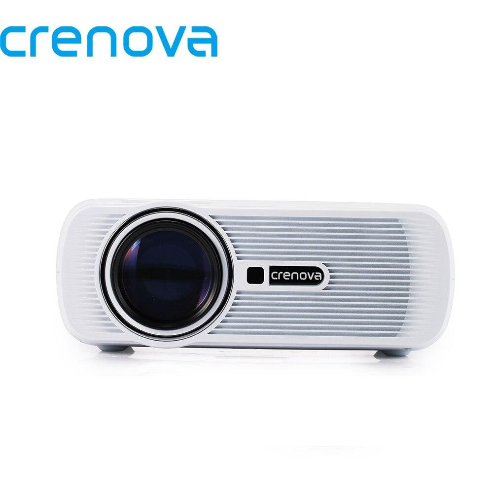 CRENOVA proyector de vídeo para Full HD 1920*1080 p con HDMI USB AV BGA Interfaces para películas de cine en casa proyector Beamer