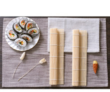 1PC Bamboo Sushi Mat Tool Onigiri Rice Roller Rolling Maker DIY Molds Cake Rollers Mould Food Kitchen Accessories OK 0421