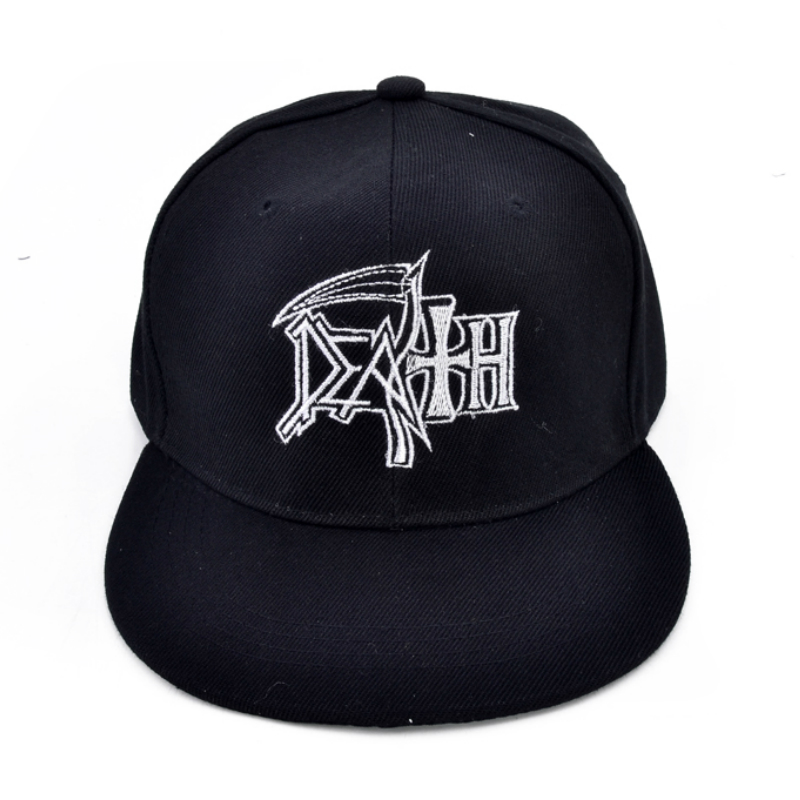 death From Fear To Eternity Death metal rock Men   cap   embroidery   baseball     cap
