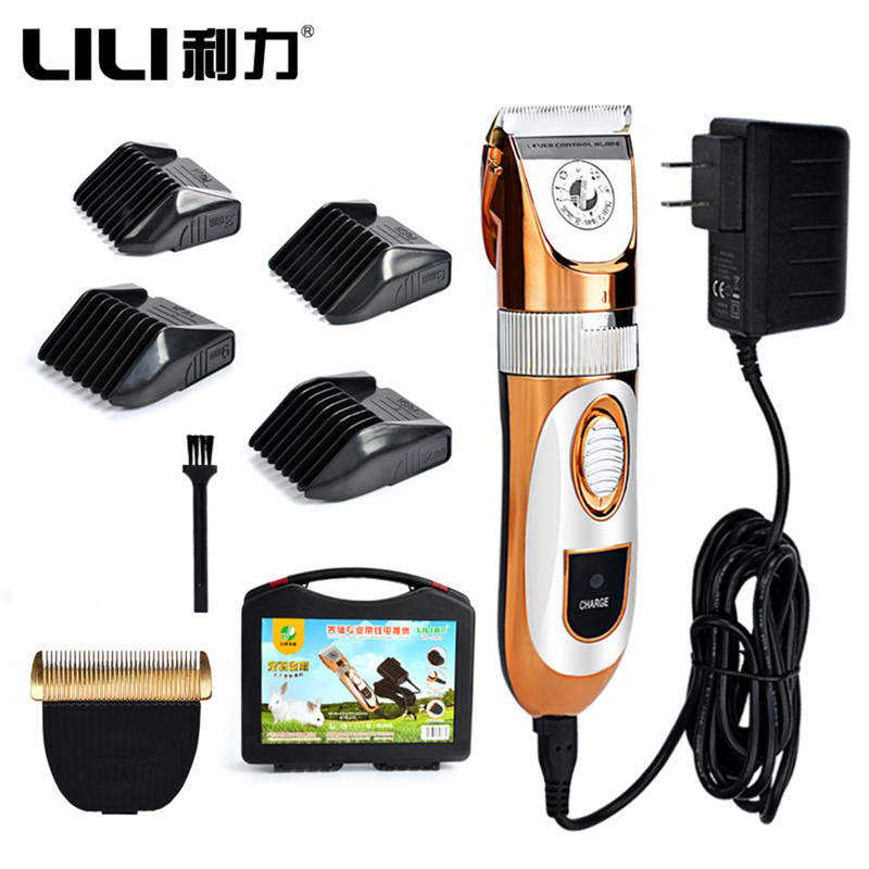 LILI ZP 293 Professional Electric Pet Cat Dog Hair Trimmer 60W 110~240V Voltage Dog Haircut Machine Animals Grooming Clippers-in Razor from Beauty & Health    1