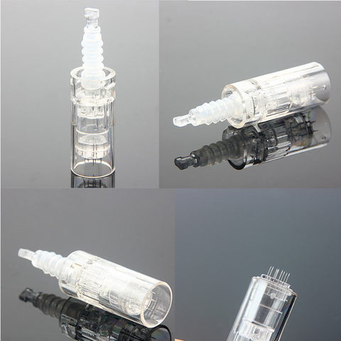 100 pcs profissional microneding caneta derma baioneta cartucho dr caneta agulhas para microneedle mym derma