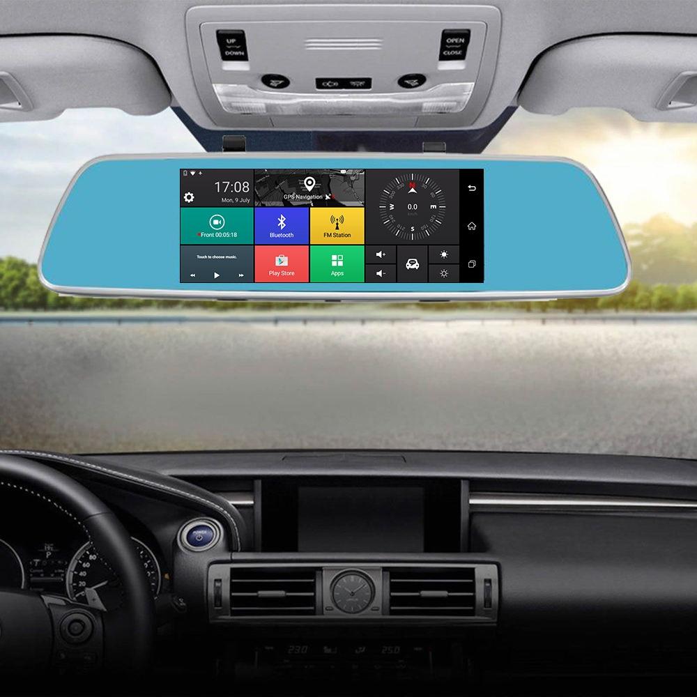 Caméra de recul Panlelo V101 voiture GPS Navigation caméra rétroviseur caméra 3G/4G Internet Wi-Fi 1 GB RAM 16 GB ROM Android 5.1 APP contrôle - 5