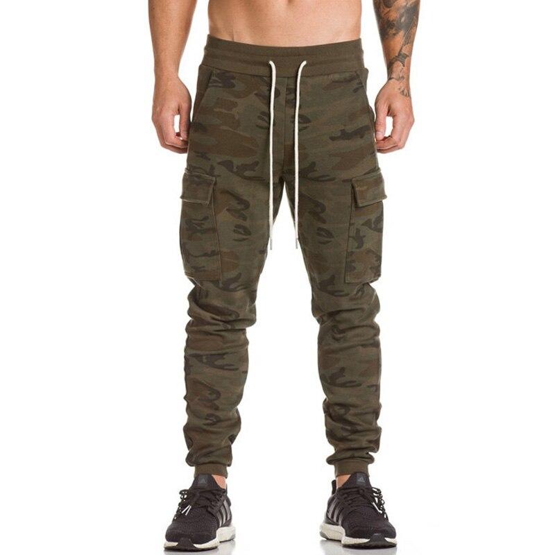 2018 Brand Men Pants Hip Hop Harem Joggers Pants 2018 Male Trousers Mens Joggers printing Multi-pocket Pants Sweatpants 3XL