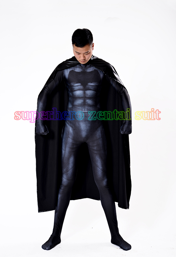 2017 Newest Batman Costume 3D Printing Spandex Lycra -4949