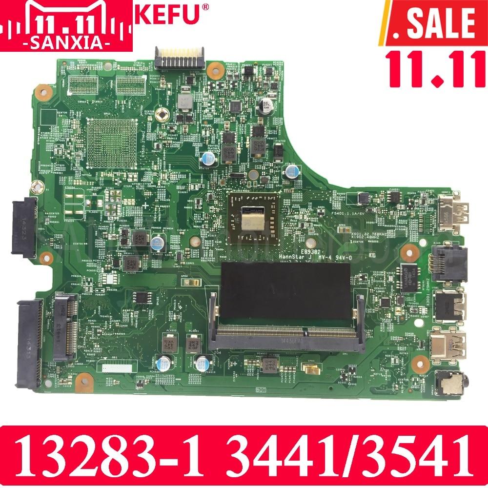 KEFU 13283-1 Laptop motherboard for DELL 3441 3541 Test original mainboard APU GM