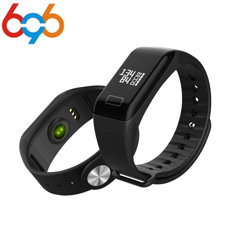696 Fitness Tracker Armband Pulsmesser Smart Band F1 Smartband Blutdruck Mit Schrittzähler Armband