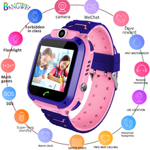 LIGE 2019 kids Smart Watch ip67 Waterproof  LBS Positioning Tracker kid SmartWatches SOS Emergency Call Support SIM Card +Box