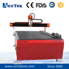 New type hot sale 1212 1224 4 axis rotary 3d wood cnc router machine for door cabinet furniture aluminum making