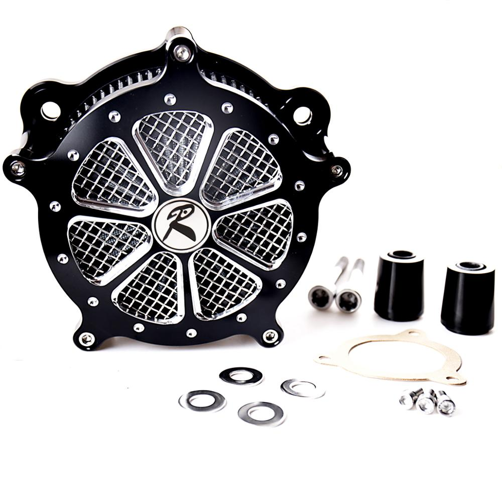 Shallow Cut Billet Aluminum Air Cleaner Kit Fit For Harley Touring Electra Street Glide Road King FLHX FLHR FLH/T FLTR 2008-2016Shallow Cut Billet Aluminum Air Cleaner Kit Fit For Harley Touring Electra Street Glide Road King FLHX FLHR FLH/T FLTR 2008-2016