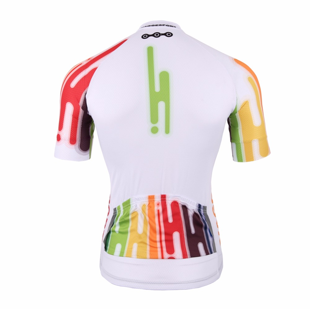2019 Colorful Unique Cycling Jersey Anti Uv Free Outdoor Racing Bicycle  Cycling Shirts Cool Breathable Full Zipper Bike Jersey-in Cycling Jerseys  from ... 053e07cb2