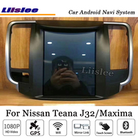 Liislee 10.4 Inch Android Car Multimedia For Nissan Teana J32 Maxima 2008~2013 Radio Stereo BT FM GPS Map Navi Navigation System