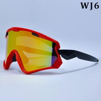 4 レンズ偏サイクリングサングラスブランドデザイナー男性サイクリングメガネ女性サイクリング眼鏡サングラス近視フレーム